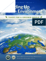 USTR Standing Up for the Environment 2015 Report (Embargoed Draft, 5-20-15, LOW QUALITY)