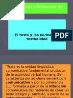 Normas de La Textualidad