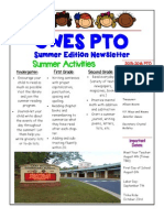 SummerEd PTO Newsletter
