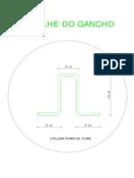 Modelo Do Gancho para concreto