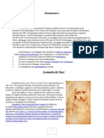 Renaissance Leonardo Da Vinci