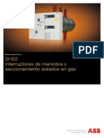 Catalogo Interruptor Abb Sf6 Media Tension
