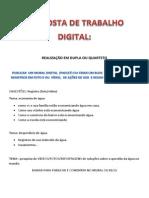 5 - 5 - Proposta de Trabalho Digital