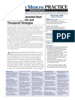 Acutely Decompensated Heart Failure Diagnostic and Therapeutic Strategies