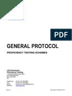 LGC Standards Proficiency Testing - General Protocol