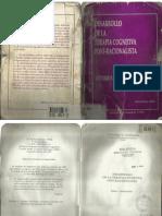 Desarrollo de La Terapia Cognitiva Post-Racionalista - Vittorio E. Guidano
