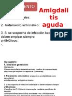 Amigdalitis y Adenoiditis Aguda y Cronica