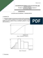 EXPERIMENTO 1 - Análise Granulométrica