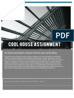 Cool House Assignment FINAL PDF