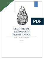 GLOSARIO TECNOLOGÍA LÍTICA
