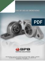BPB Catalogo Rodamientos de Bolas Montadas