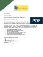 KAA Chairman's Statement