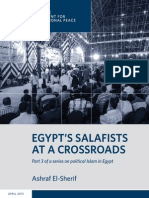 Egypt's Salafists at a Crossroads