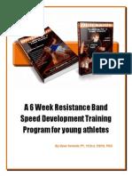 6 Week Youth Speed Program Revised