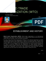 Wto and its role in international trade