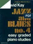David Kay - Jazz and Blues 4 (Easy Graded Piano Pieces)