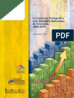 La transición demográfica en Venezuela 2000-2050