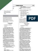 DECRETO SUPREMO N° 007-2015-SA - Norma Legal Diario Oficial El Peruano