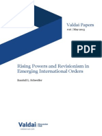 Rising Powers and Revisionism in Emerging International Orders