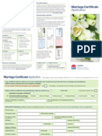 Apply for Marriage Certificate NSW