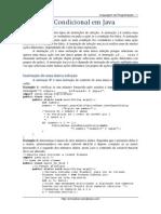 Estrutura Condicional Em Java