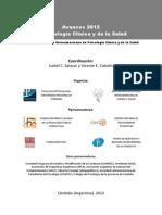 Avances 2012 en Psicología Clínica y de La Salud