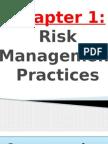 Riskmanagement Chapter 1