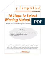 10 Steps to Select Winning Mutual Funds- Dec'14