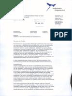 Brief Over Signalering Nieuwe Dienstverlening in de Huisartsenzorg