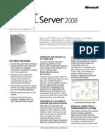 SQLServer2008 BI Datasheet
