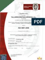 Certificado Iso 9001 2008