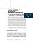 A Decision Framework for Selecting Remediation Technologies at Hydrocarbon Contaminated Sites
