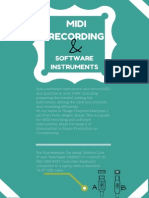 Add a Software Instrument and Record MIDI and Quantize in Your DAW.