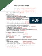 Nastavni Listić 5 - Rješenja