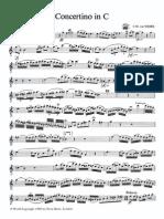 Weber Concertino Oboe and Piano