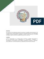FACULTAD CIENCIAS POLÍTICAS Y ADMINISTRATIVAS
