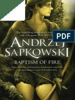 Baptism of Fire by Andrzej Sapkowski Extract