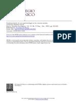 García (2001) - Fundamentación de una epistemología en las ciencias sociales