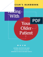 A Clinician Handbook Talking With Your Older Patient