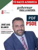 Programa electoral PSOE Azuqueca 2015