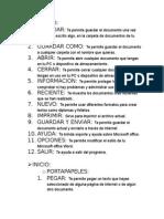 Funciones de Herramientas de Word 2010