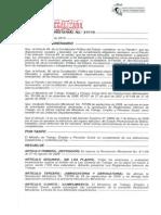 Resolución Ministerial N 317 de 18 de mayo de 2.015 DE REGLAMENTOS INTERNOS