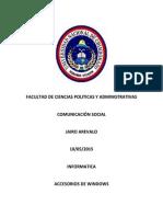 Accesorios de Windows Jairo Arevalo Deber