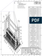 Pipe Rack Drawing for Oil Field