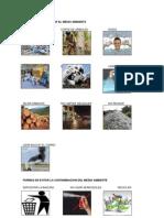 Formas de Contaminar El Medio Ambiente