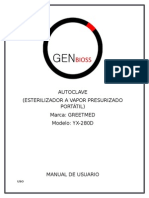 Manual Autoclave Completo