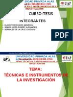 Tecnicas de Investigacion 2015 Erik