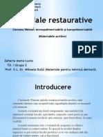 Materiale Restaurative