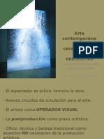 Arte Contemporáneo Características