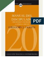 OGDEN Gregory Manual de Discipulado (Completo)
